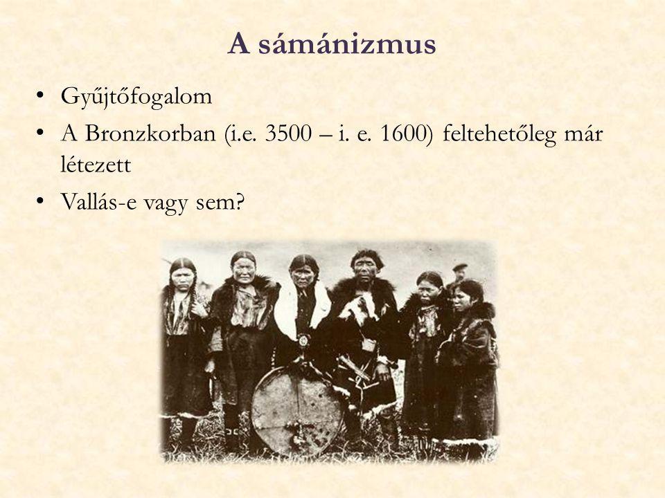 A sámánizmus Gyűjtőfogalom