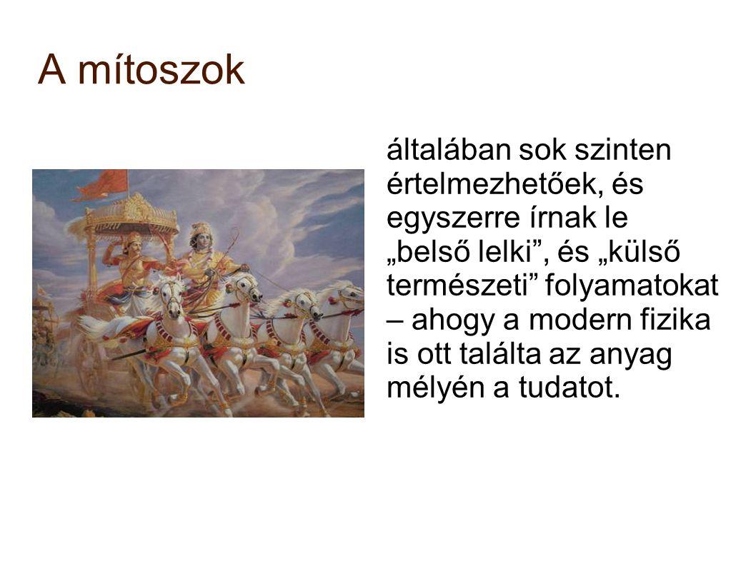 A mítoszok