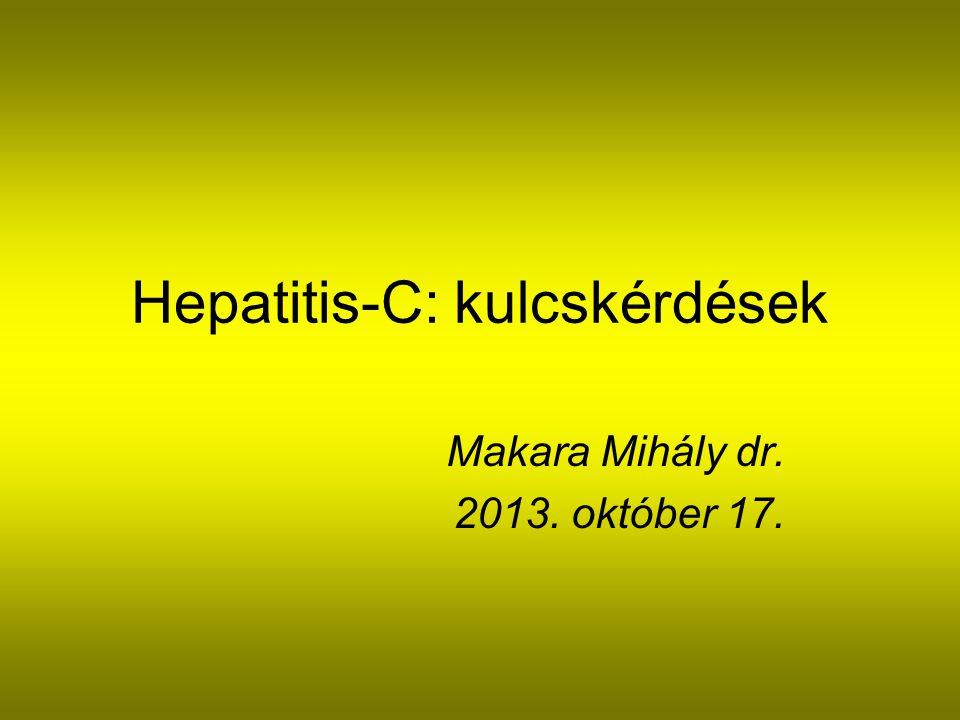 Hepatitis-C: kulcskérdések