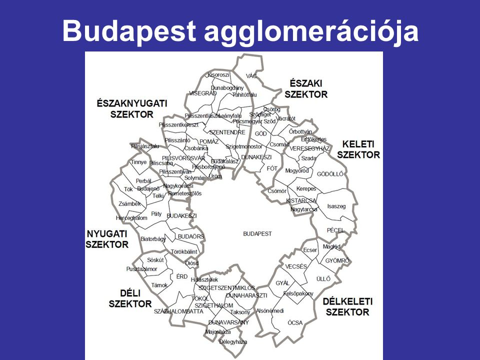 Budapest agglomerációja