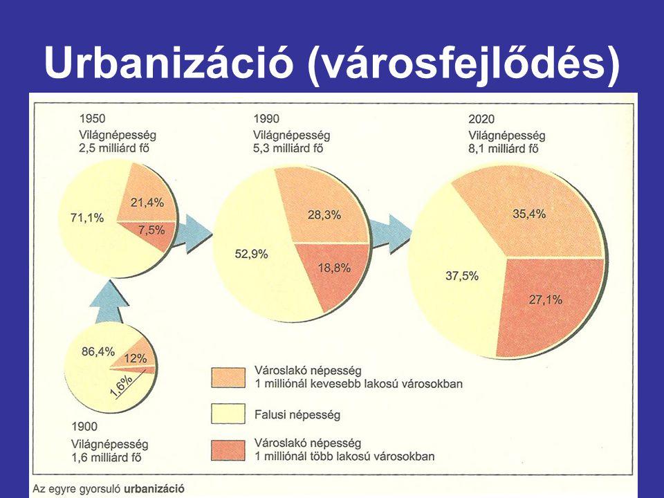 Urbanizáció (városfejlődés)