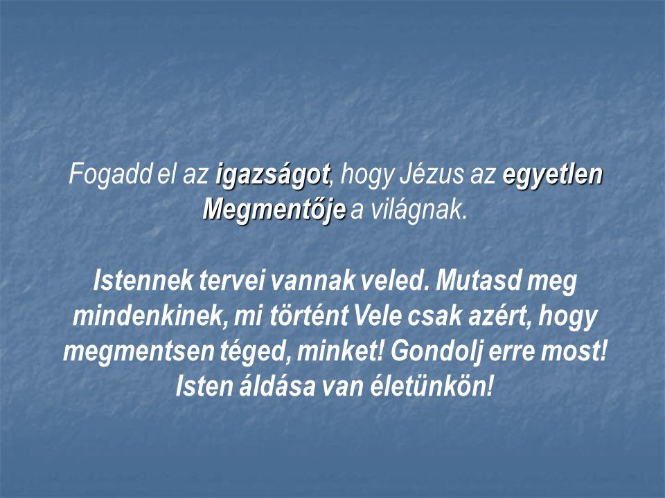 Isten áldása van életünkön!