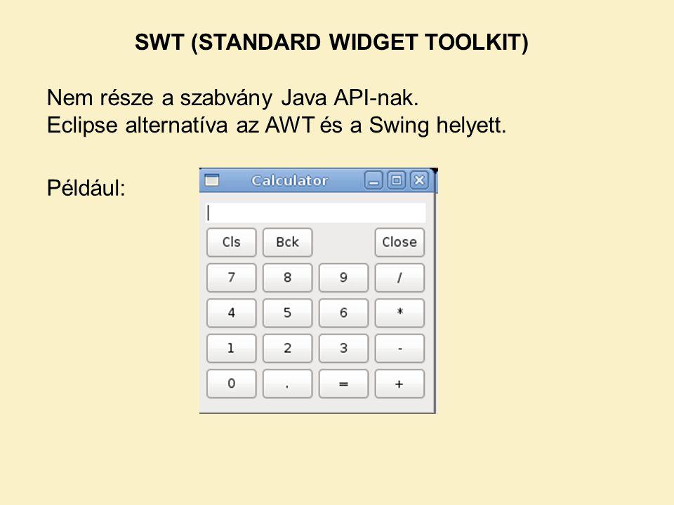 SWT (STANDARD WIDGET TOOLKIT)