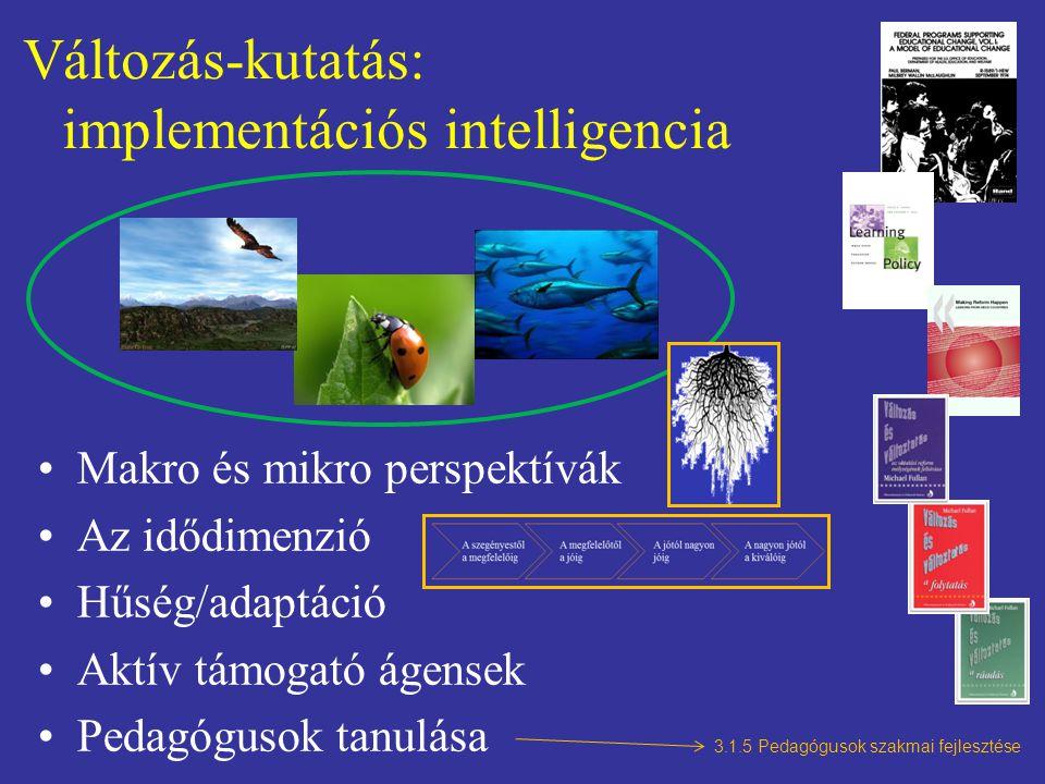 Változás-kutatás: implementációs intelligencia