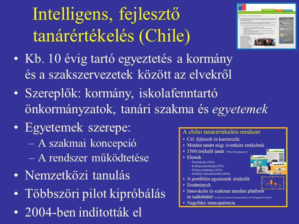 Intelligens, fejlesztő tanárértékelés (Chile)