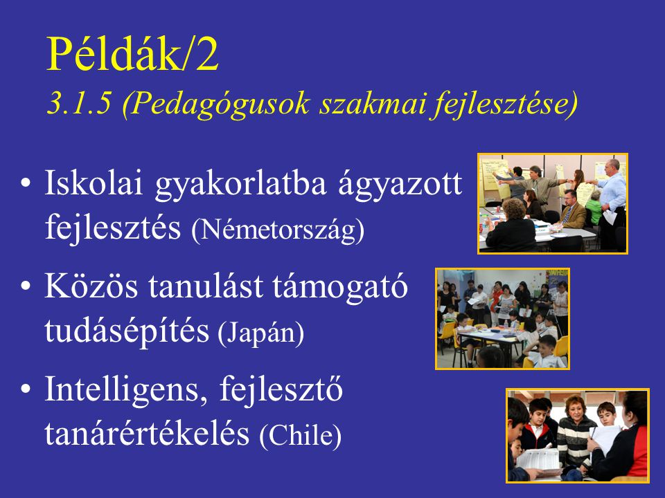 Példák/2 3.1.5 (Pedagógusok szakmai fejlesztése)