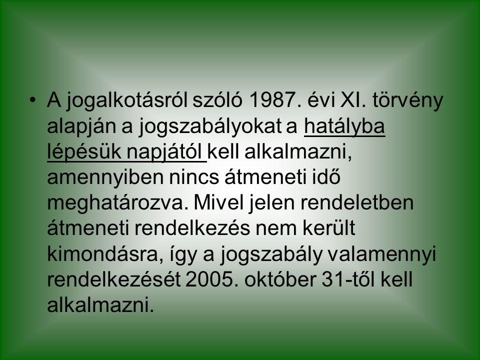 A jogalkotásról szóló 1987. évi XI