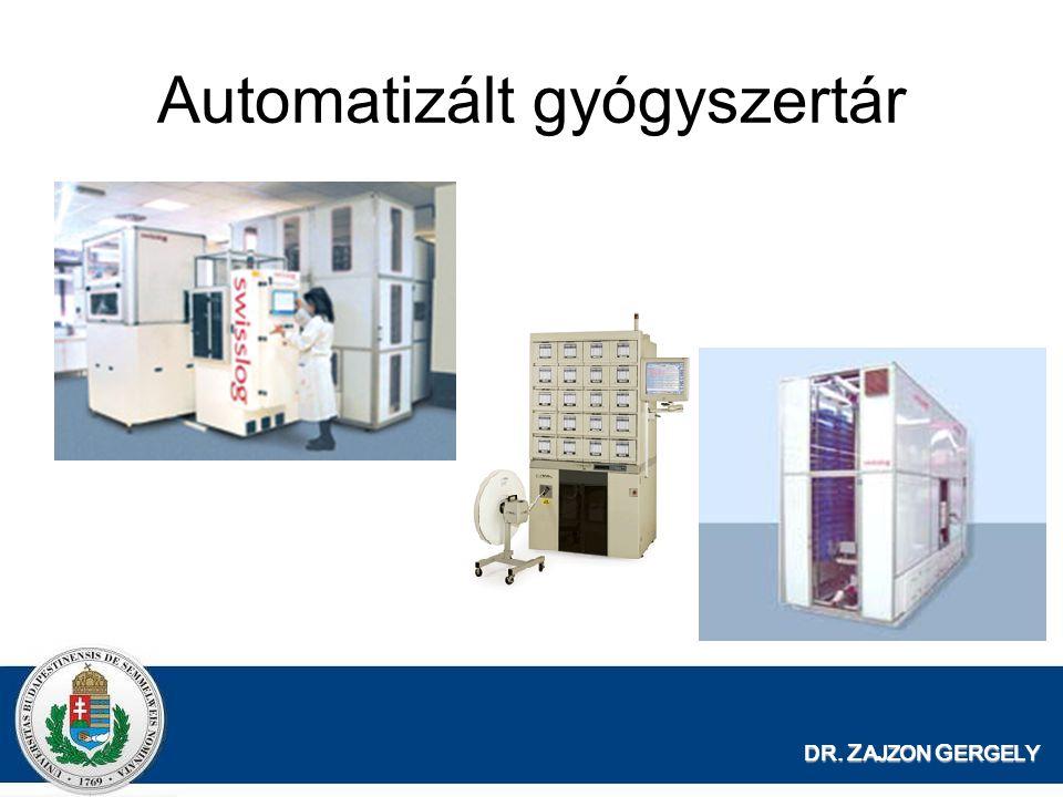 Automatizált gyógyszertár