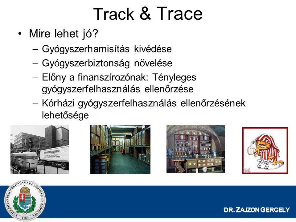 Track & Trace Mire lehet jó Gyógyszerhamisítás kivédése