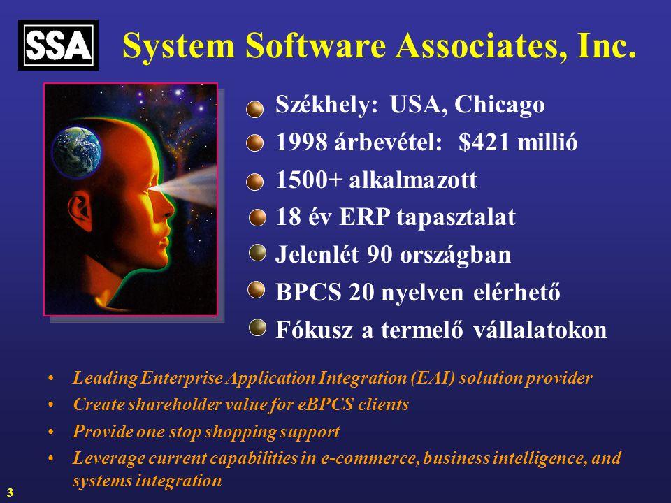 System Software Associates, Inc.