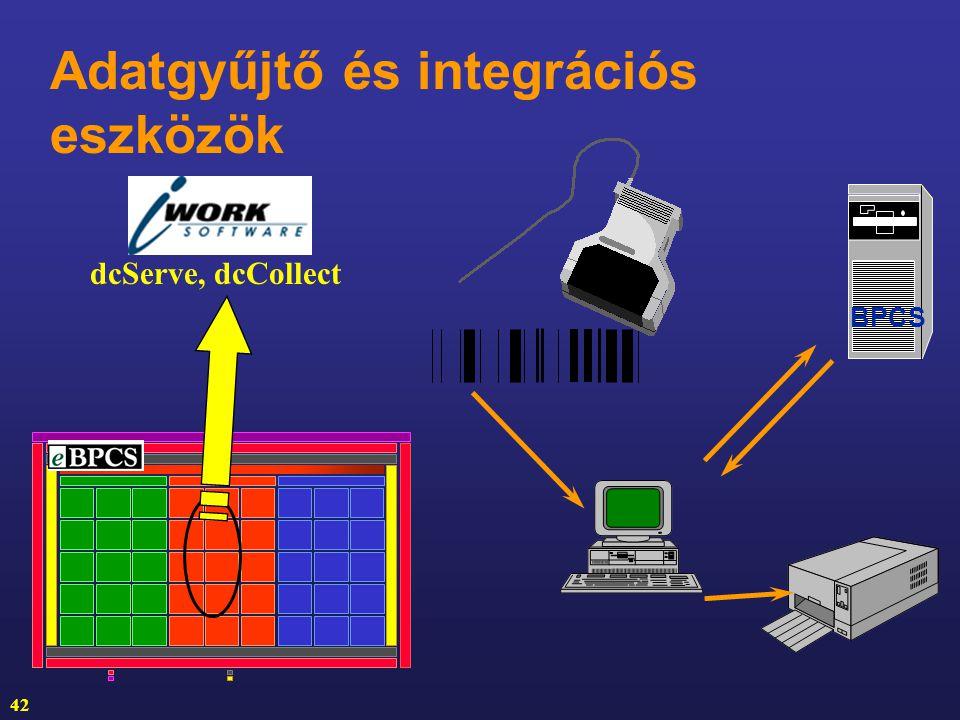 Adatgyűjtő és integrációs eszközök