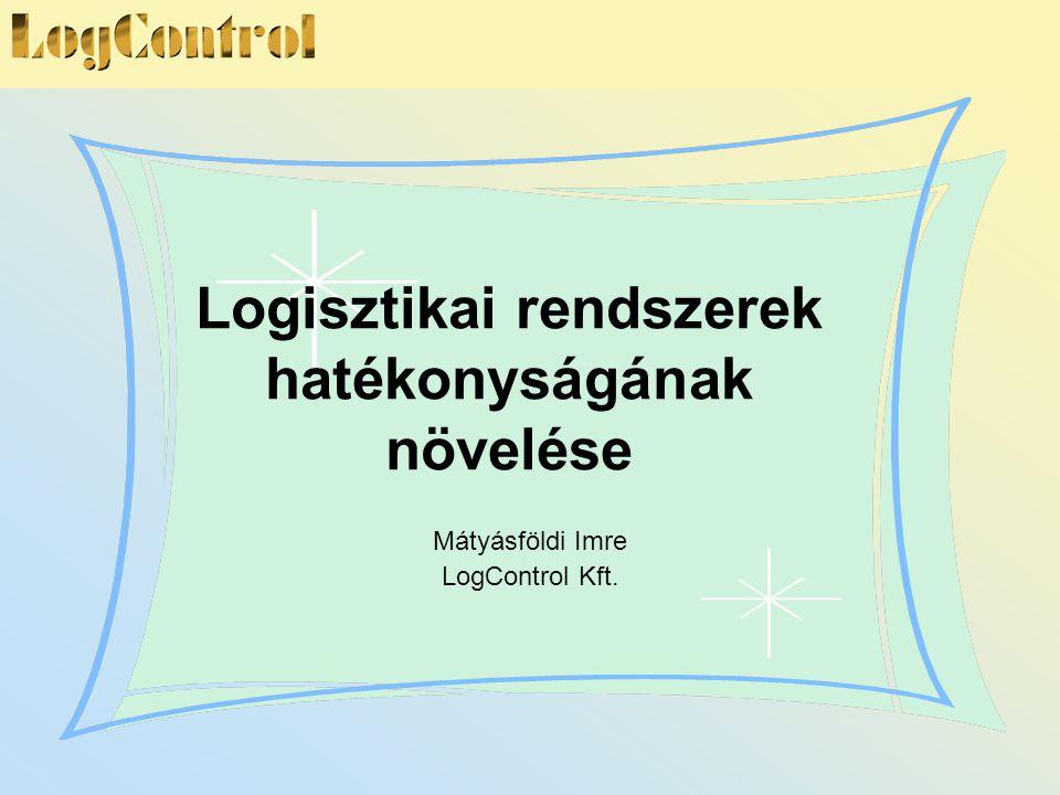 Logisztikai rendszerek hatékonyságának növelése