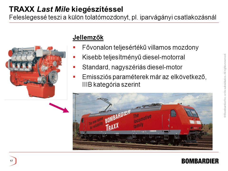 TRAXX Last Mile kiegészítéssel Feleslegessé teszi a külön tolatómozdonyt, pl. iparvágányi csatlakozásnál