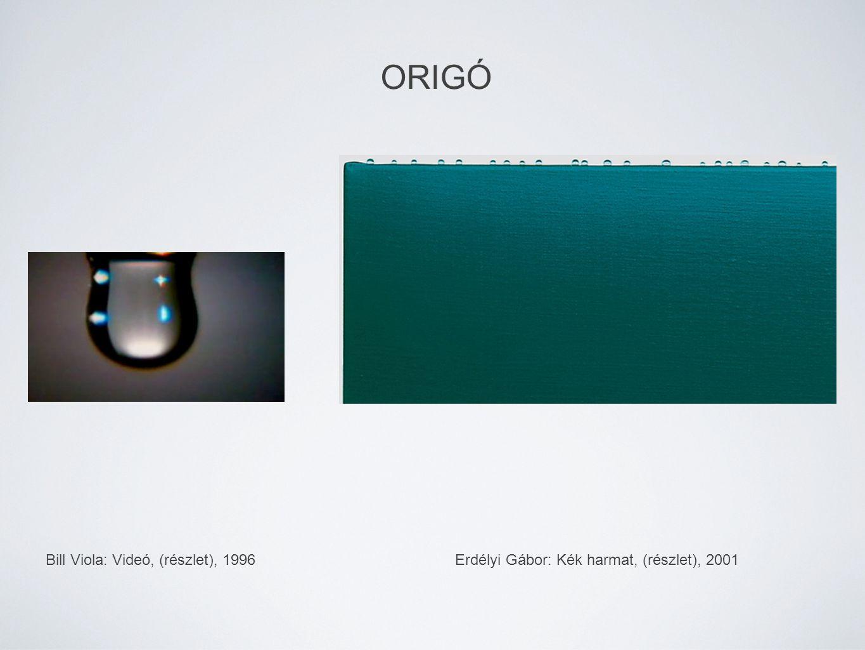 Erdélyi Gábor: Kék harmat, (részlet), 2001