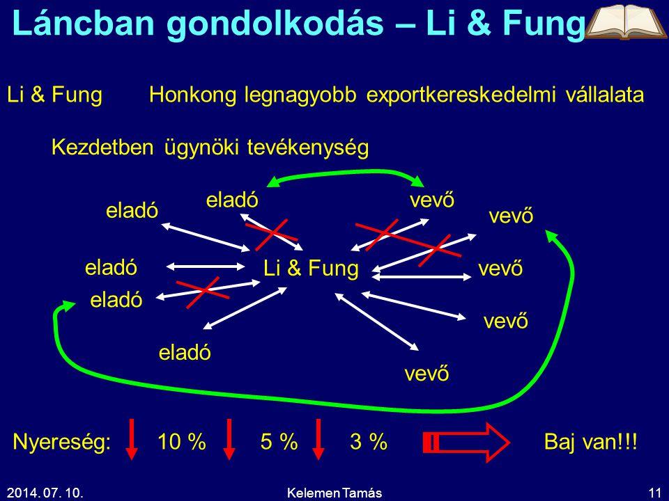 Láncban gondolkodás – Li & Fung