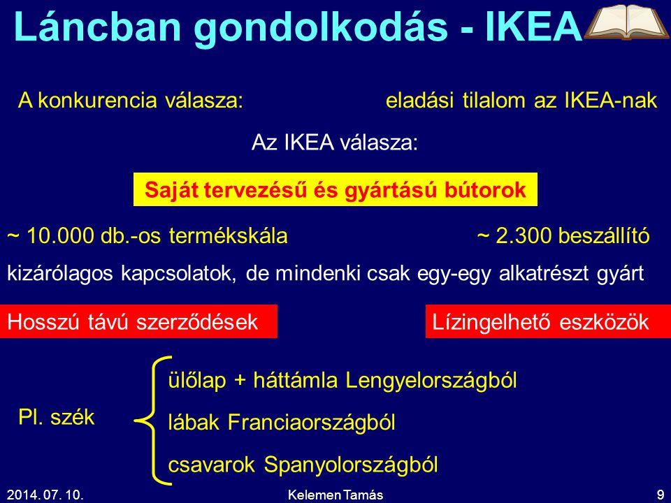 Láncban gondolkodás - IKEA Saját tervezésű és gyártású bútorok