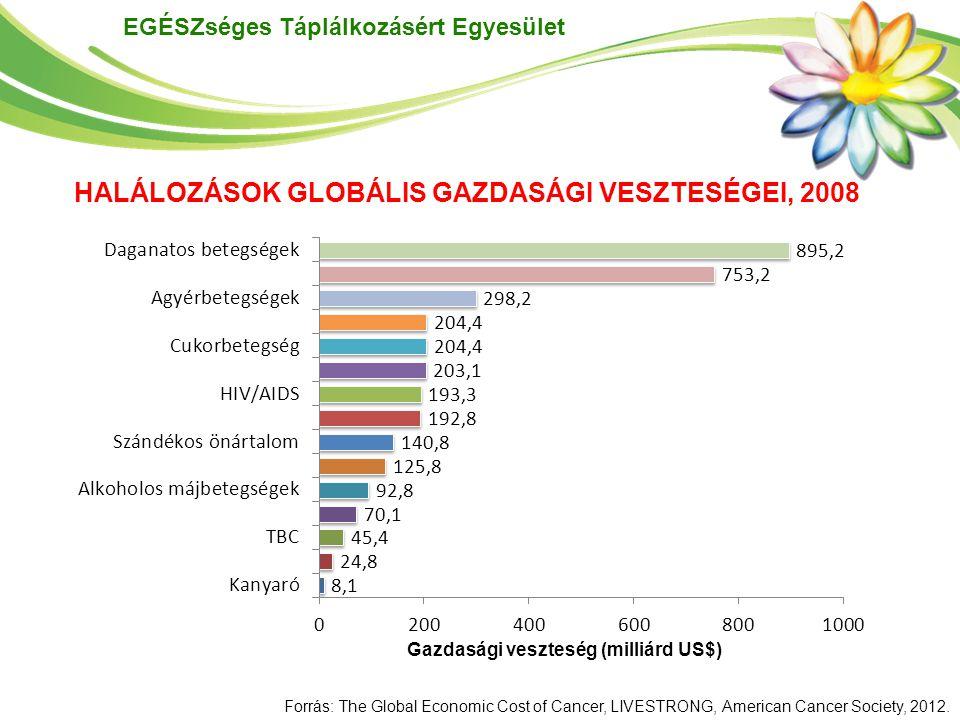 HALÁLOZÁSOK GLOBÁLIS GAZDASÁGI VESZTESÉGEI, 2008