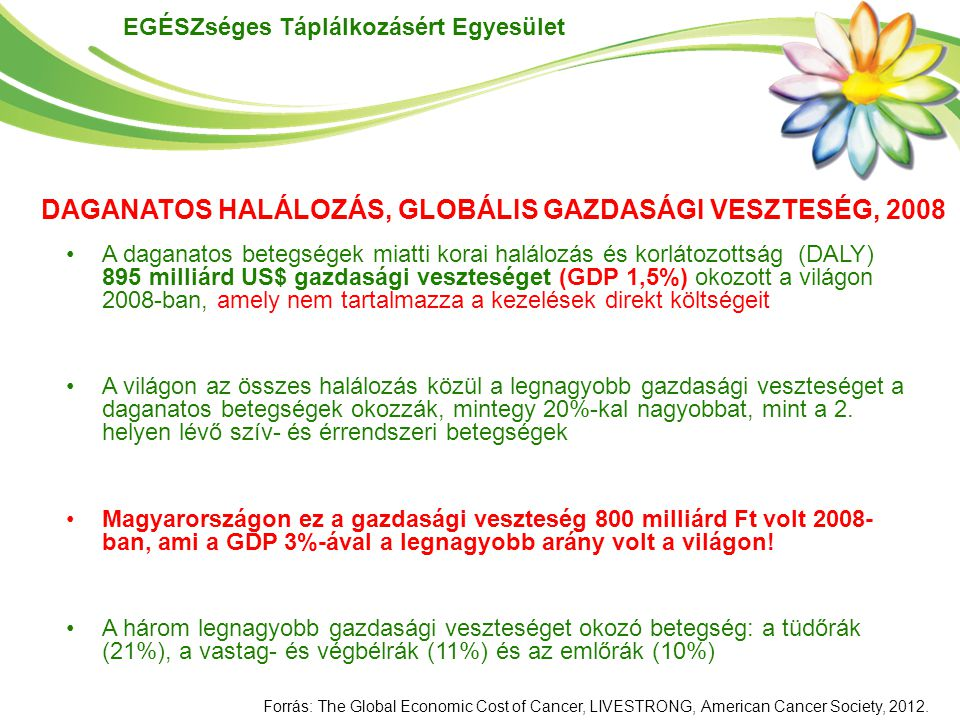 DAGANATOS HALÁLOZÁS, GLOBÁLIS GAZDASÁGI VESZTESÉG, 2008
