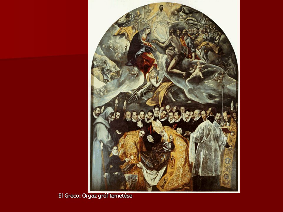El Greco: Orgaz gróf temetése