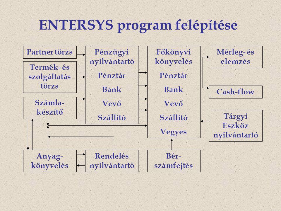 ENTERSYS program felépítése