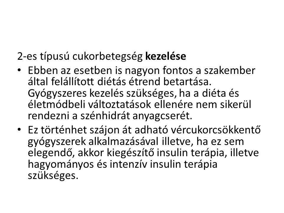 2-es típusú cukorbetegség kezelése