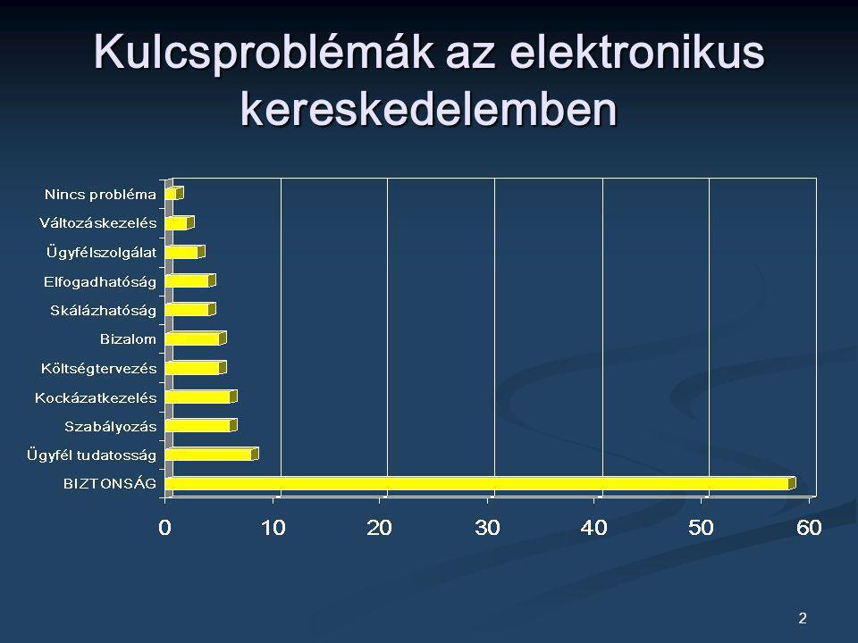 Kulcsproblémák az elektronikus kereskedelemben