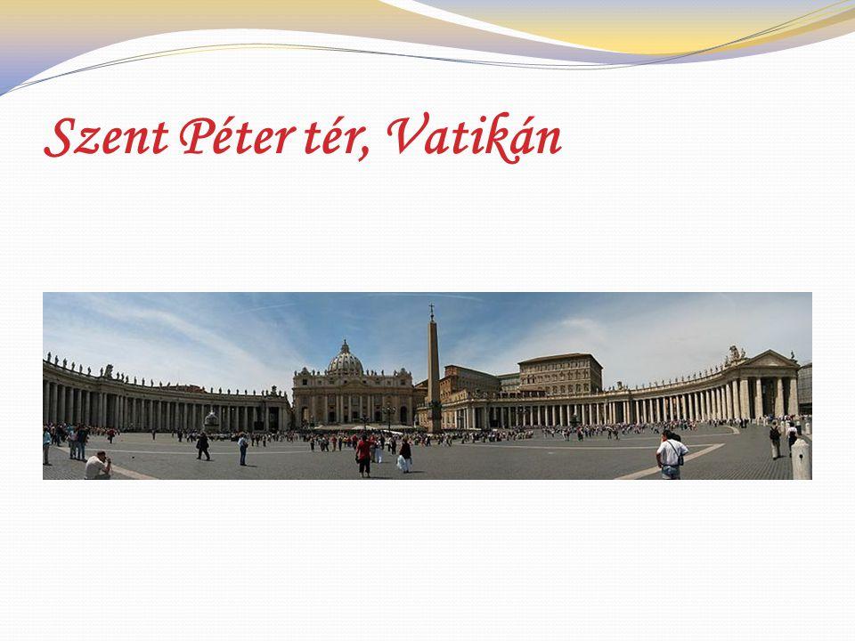 Szent Péter tér, Vatikán