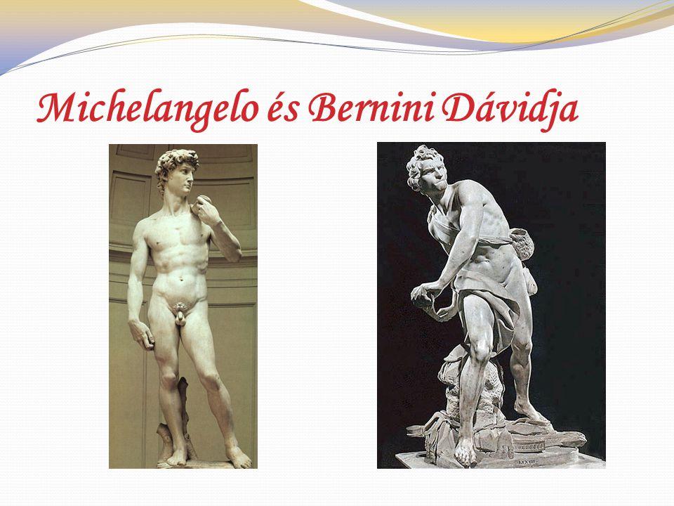 Michelangelo és Bernini Dávidja