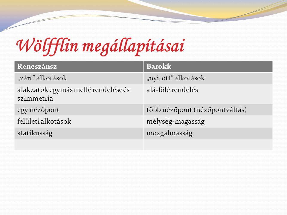 Wölfflin megállapításai