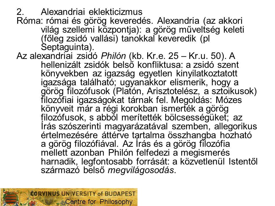 Alexandriai eklekticizmus