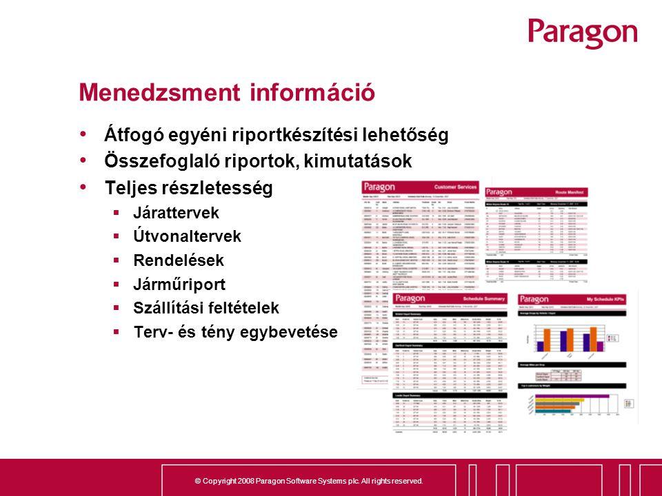 Menedzsment információ