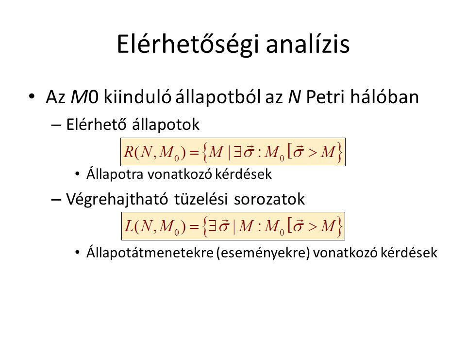 Elérhetőségi analízis