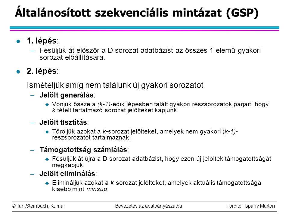 Általánosított szekvenciális mintázat (GSP)