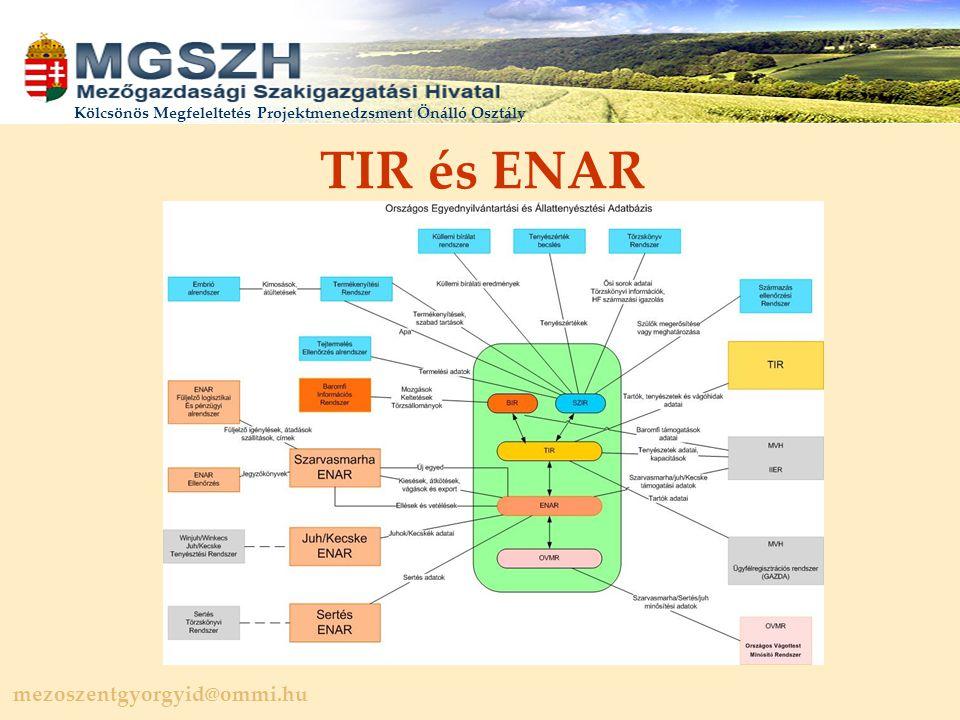 TIR és ENAR