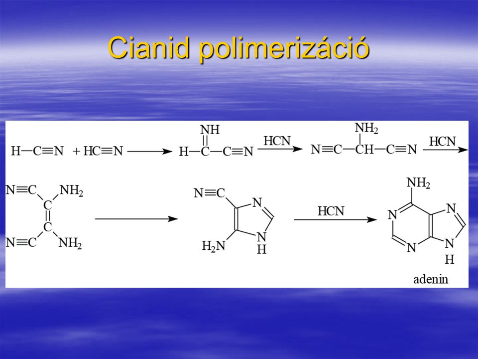 Cianid polimerizáció