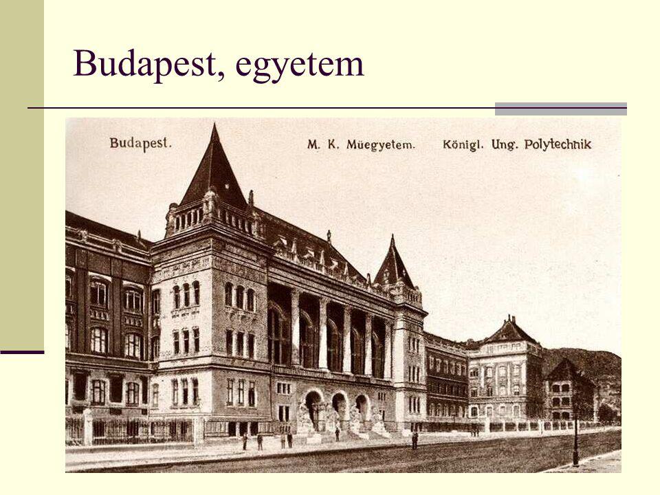 Budapest, egyetem