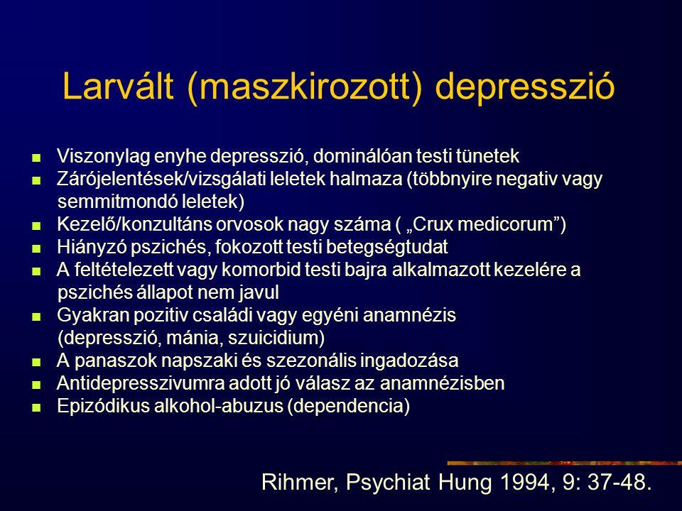 Larvált (maszkirozott) depresszió