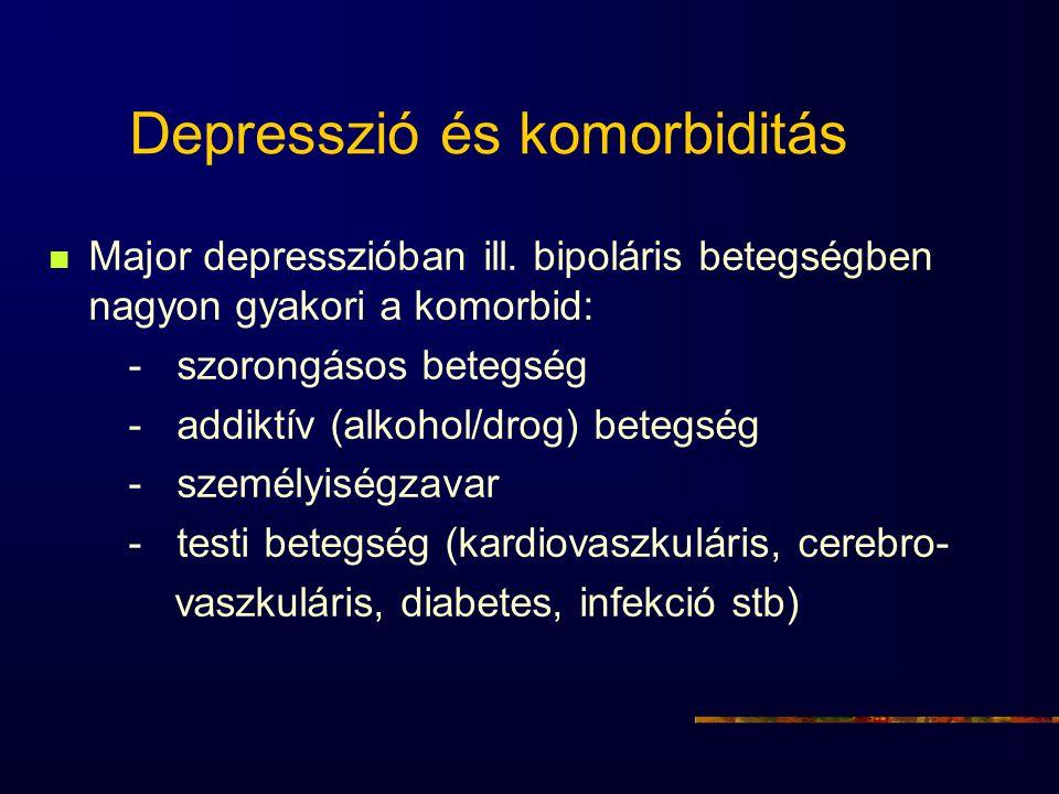 Depresszió és komorbiditás