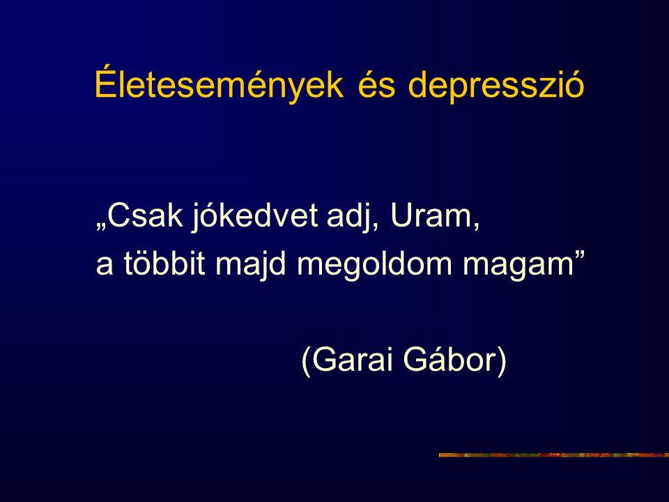 Életesemények és depresszió