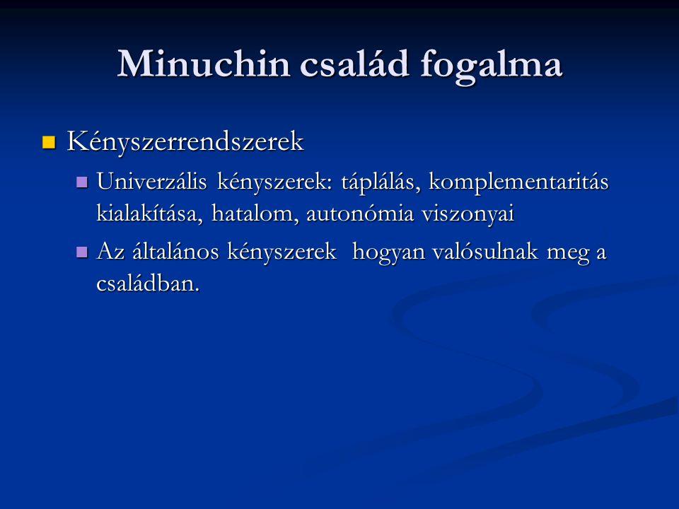 Minuchin család fogalma