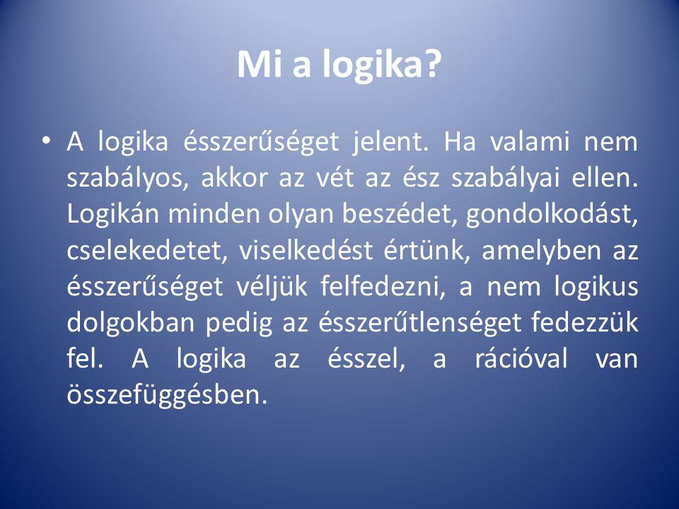 Mi a logika