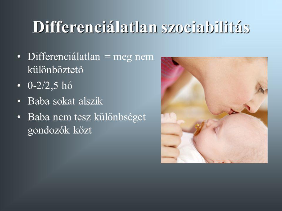 Differenciálatlan szociabilitás