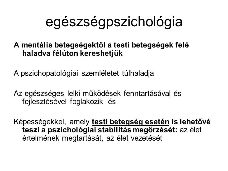 egészségpszichológia