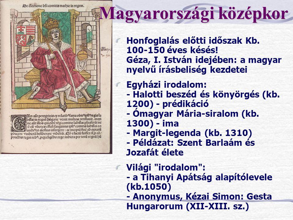 Magyarországi középkor