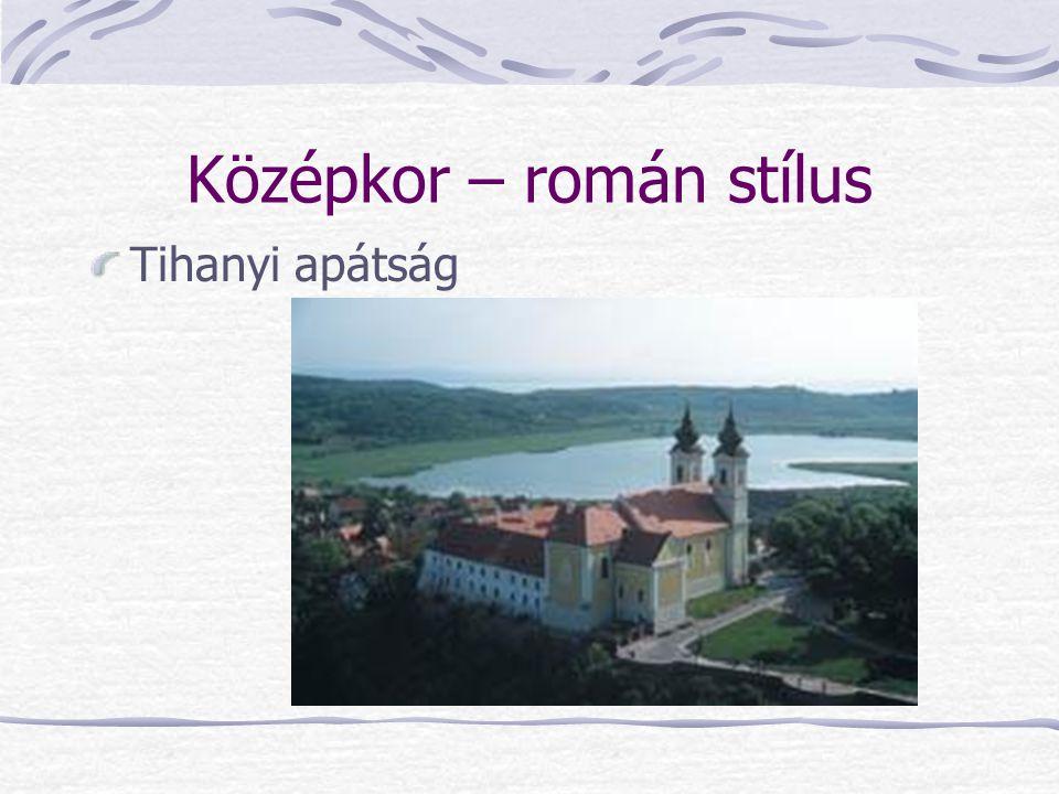 Középkor – román stílus