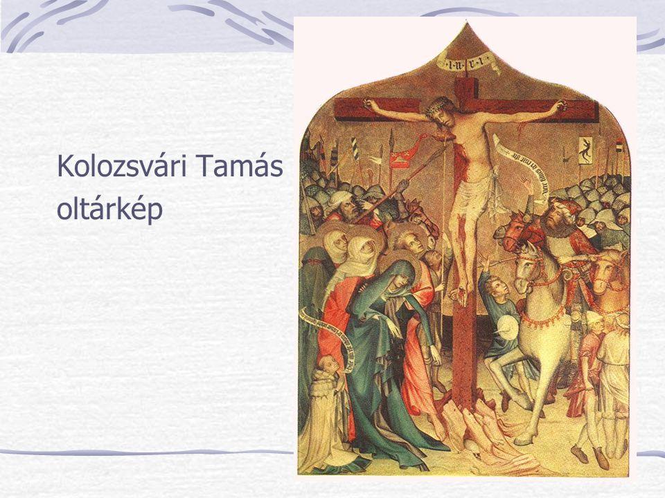 Kolozsvári Tamás oltárkép