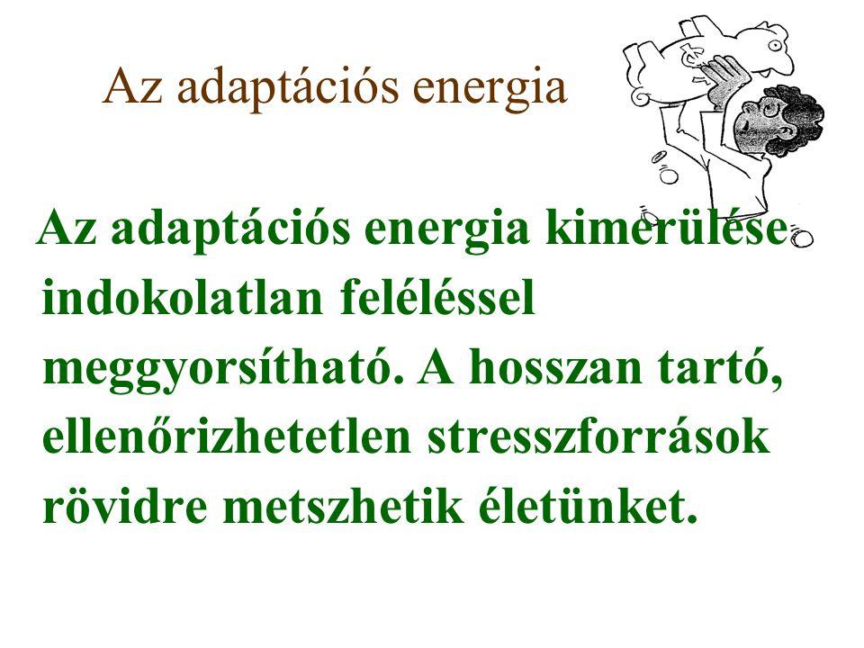 Az adaptációs energia