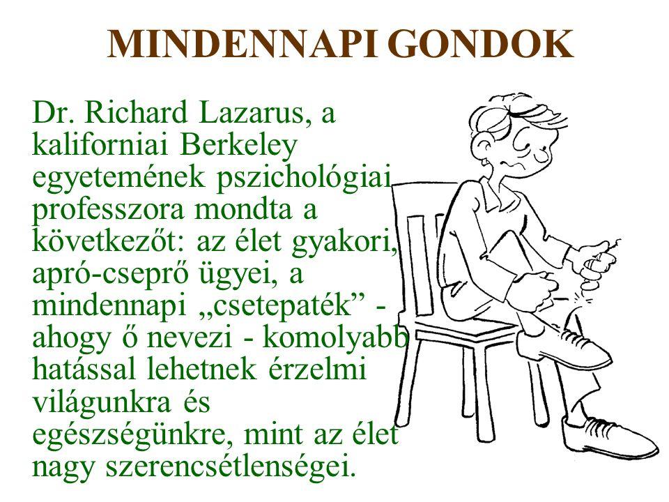 MINDENNAPI GONDOK