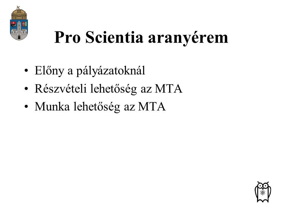 Pro Scientia aranyérem