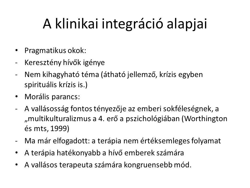 A klinikai integráció alapjai